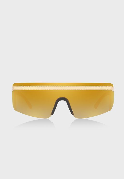 0VE2208 Shield Sunglasses