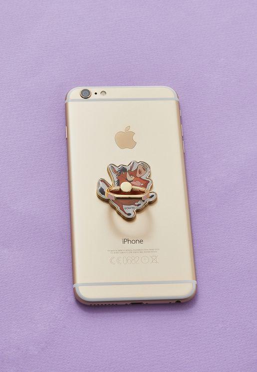 حلقة معدنية لحمل الهاتف