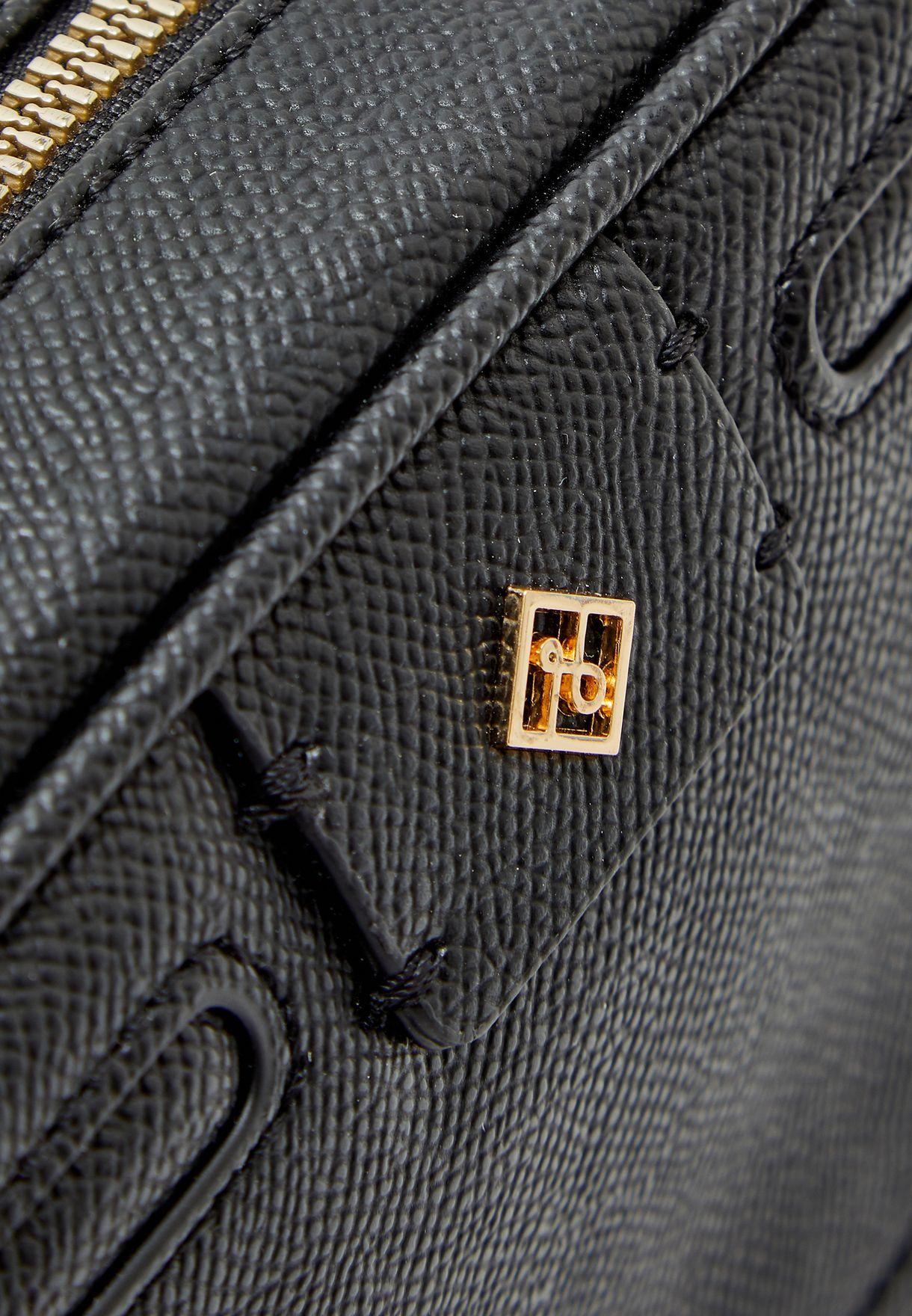 حقيبة جانبية بطبعات ازهار