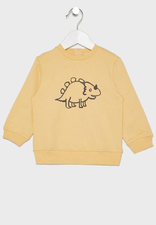 Infant  Chameleon Sweatshirt