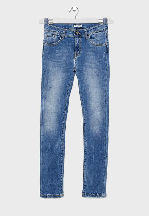 Kids Distressed Jeans