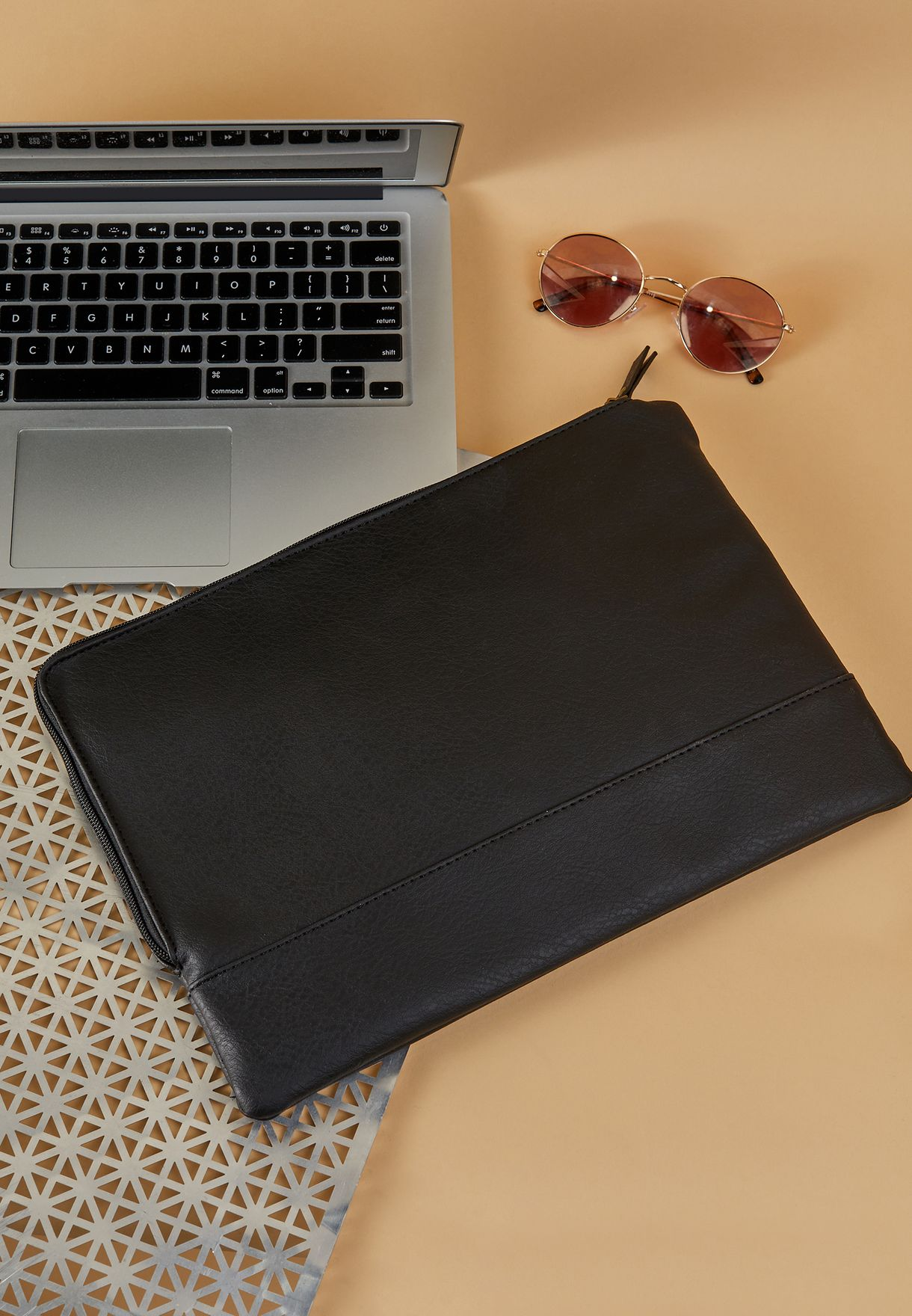 13' Oxford Canvas Polka Laptop Case