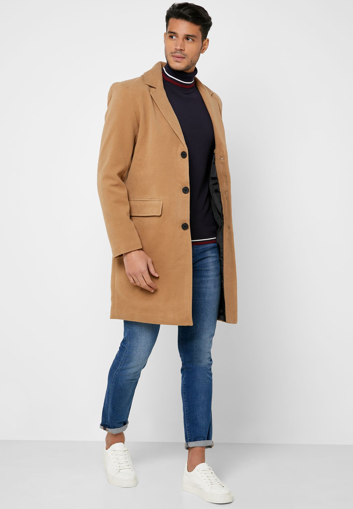 Formal Single Breasted Coat