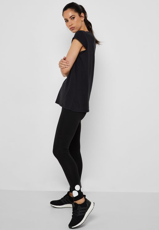 Logo Jersey Leggings
