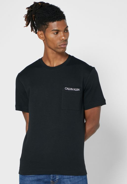 Pocket Logo Crew Neck T-Shirt