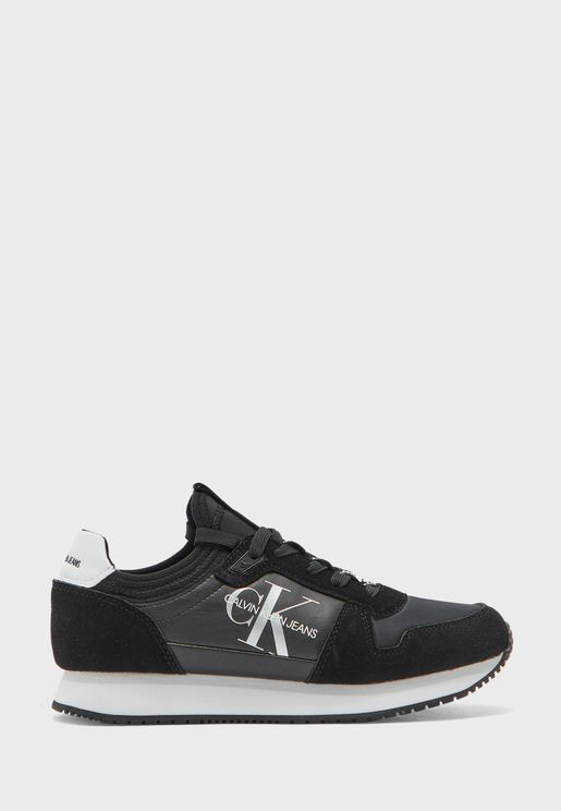 Runner Sock Laceup Sneaker