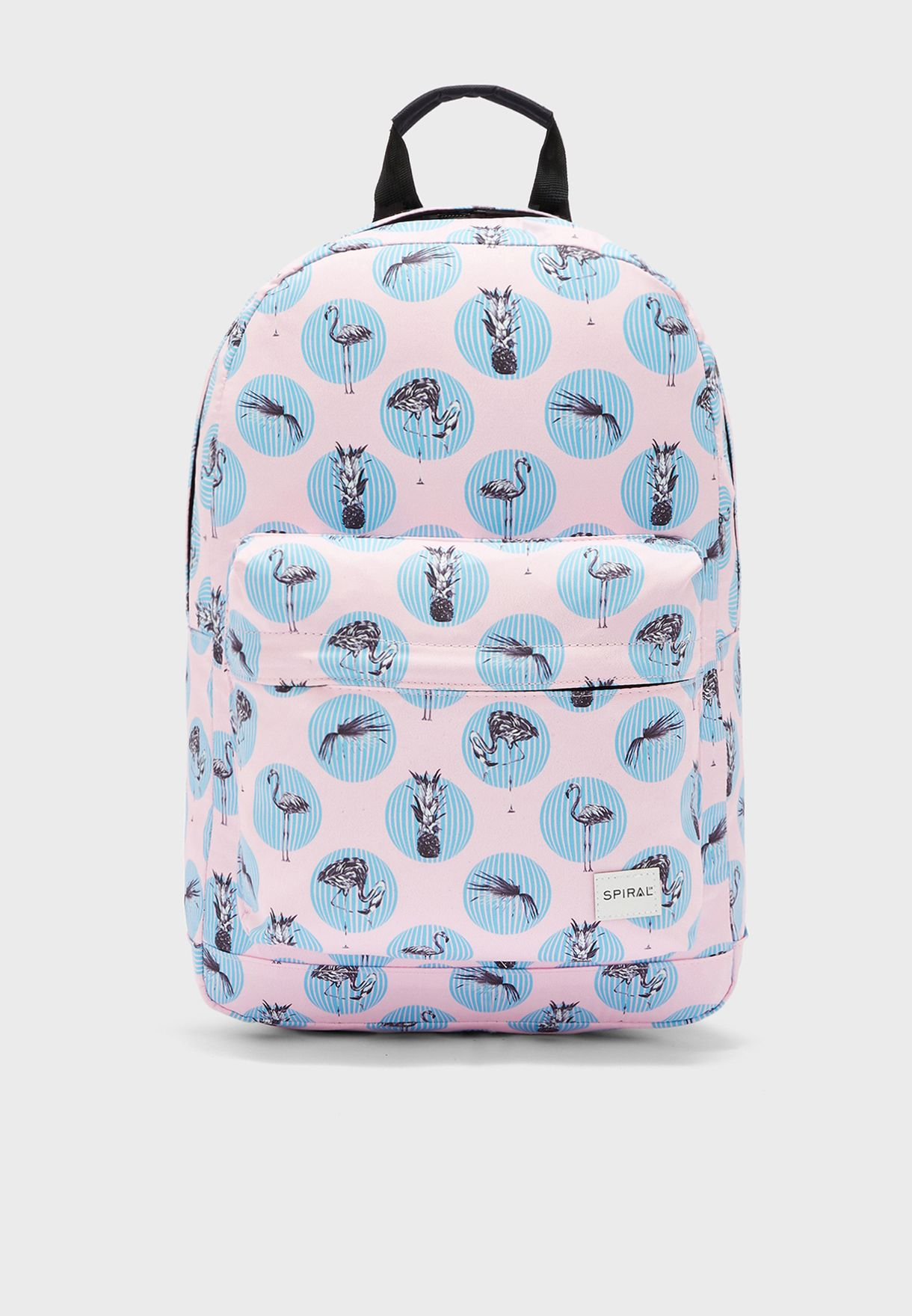 Swan Print Backpack