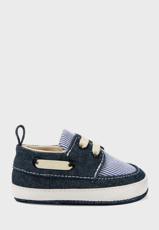 حذاء لوفر للبيبي