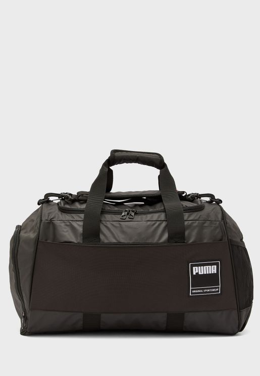 Medium Colour Block Gym Duffel