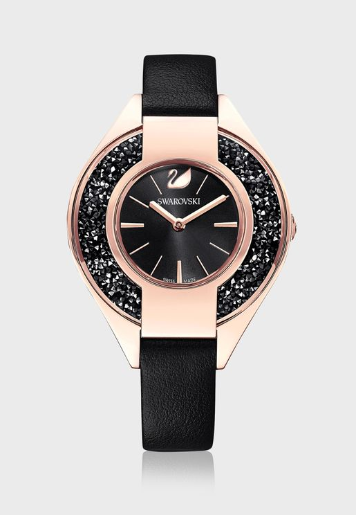 Crystalline Sporty Analog Watch