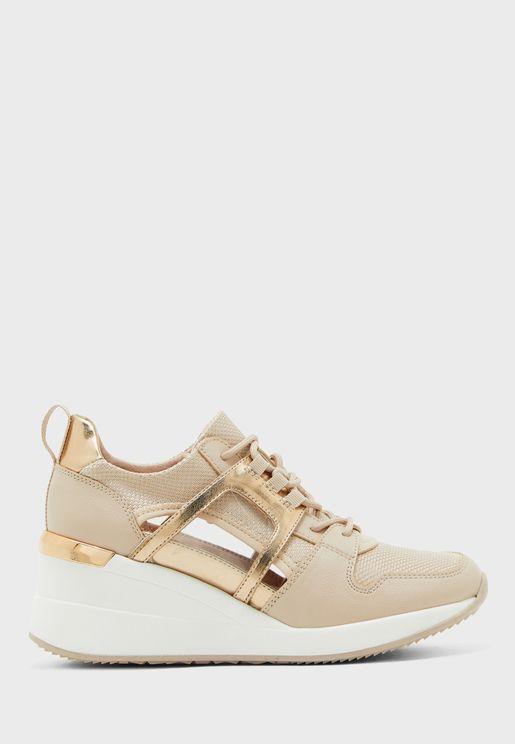Virago High Top Sneaker - Light Pink