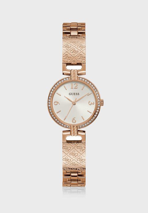 Mini Luxe Analog Watch