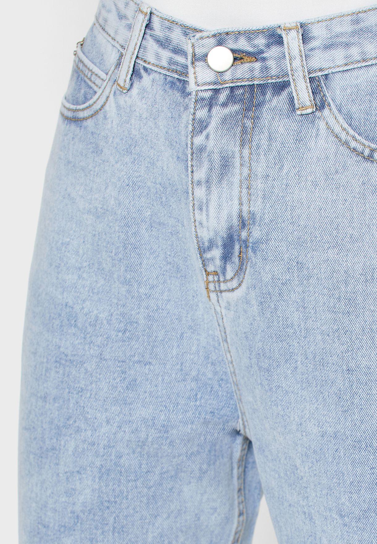 بنطال جينز بخمسة جيوب