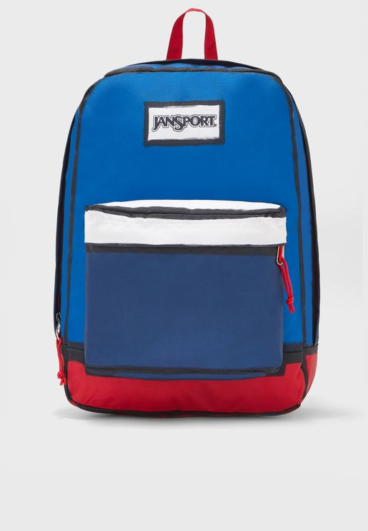 Kids Color Block High Stakes Backpack