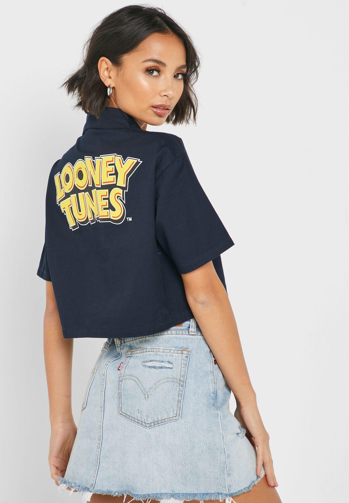 قميص قصير لوني تونز