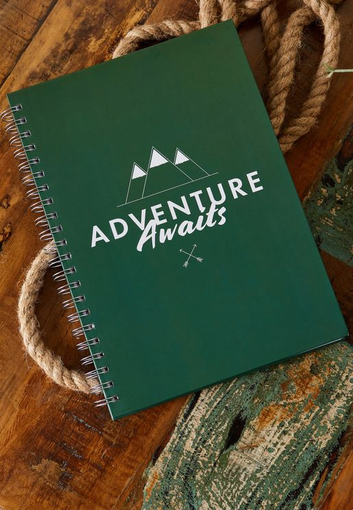 A4 Adventure Awaits Notebook