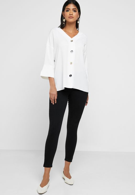 Darcy Mid Rise Skinny Jeans