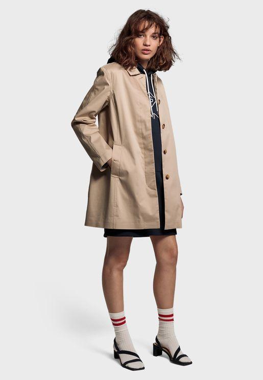 Longline Rain Coat