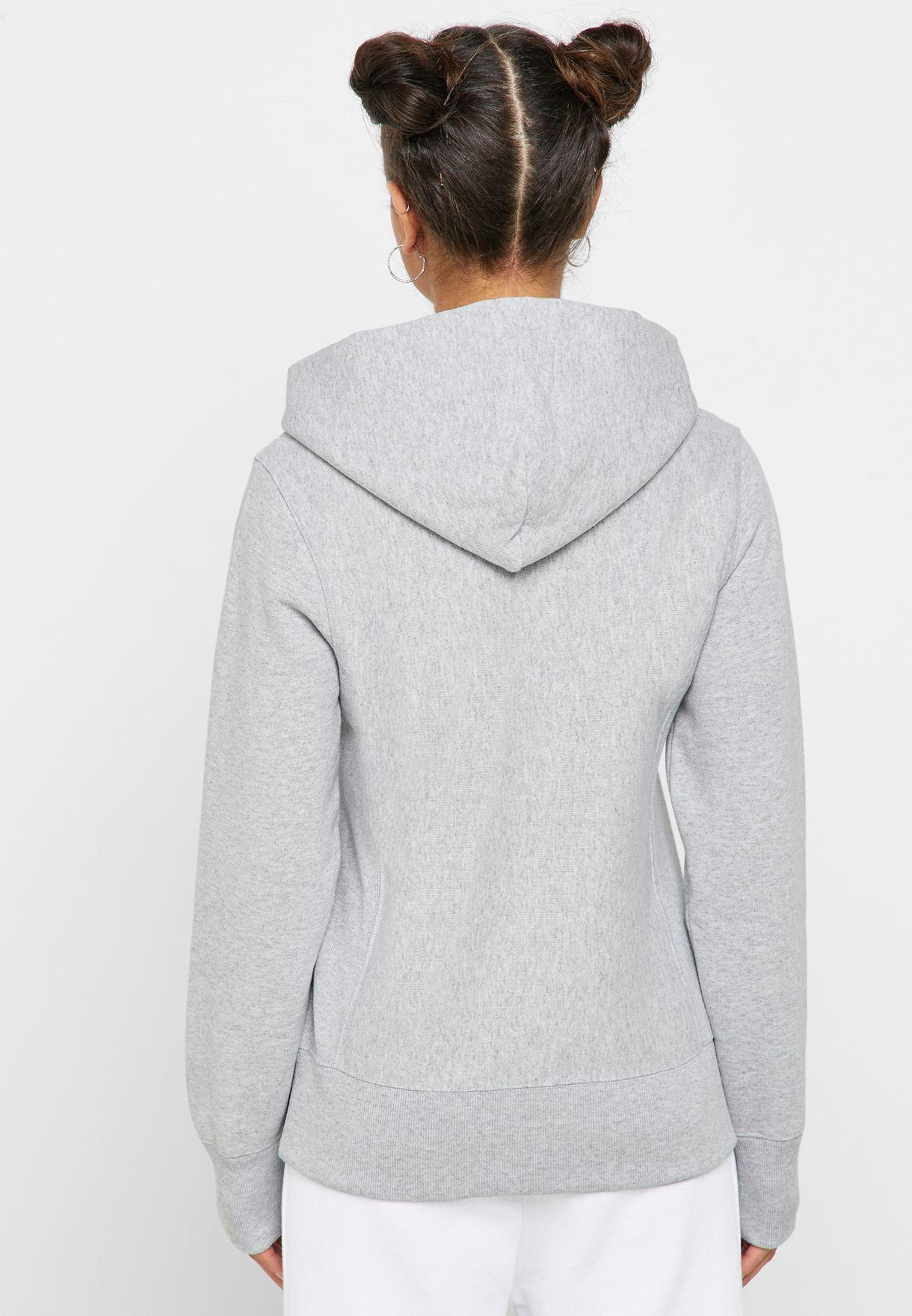 Reverse Weave Fleece Hoodie