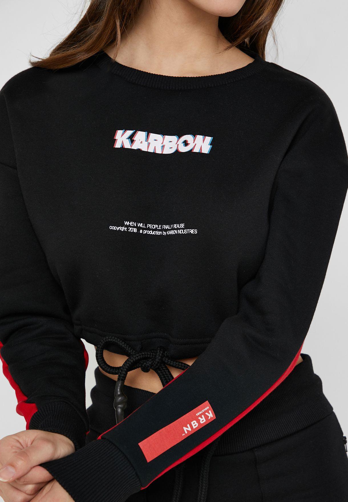 Nikolia Cropped Sweatshirt