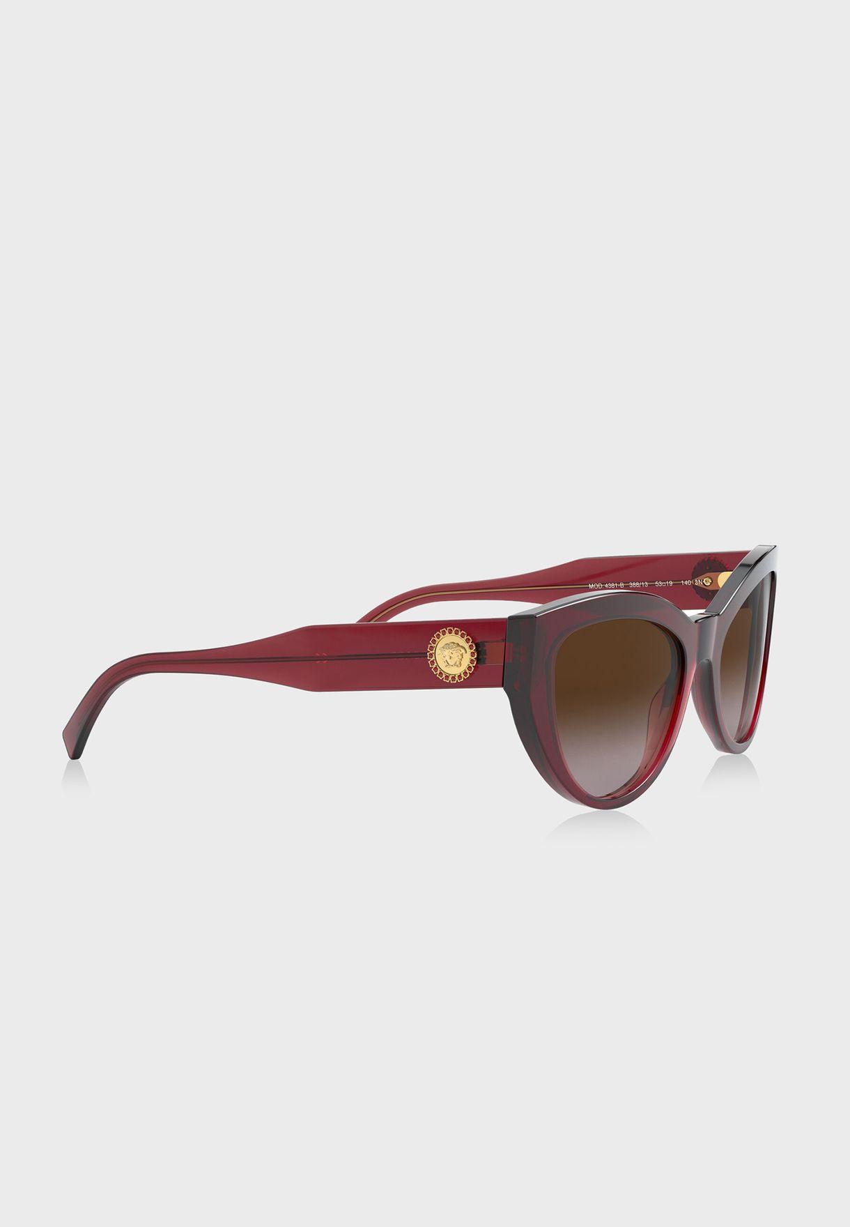 0VE4381B Cat Eye Sunglasses