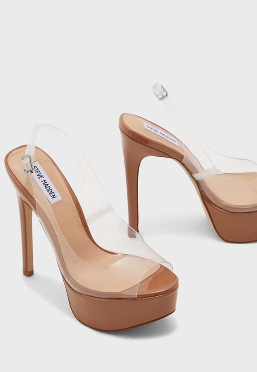 TOTALLY Slingback platform sandal