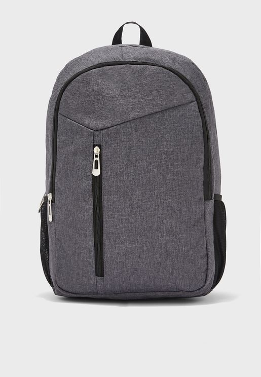 Dual Compartment Laptop Sleeve Backpack