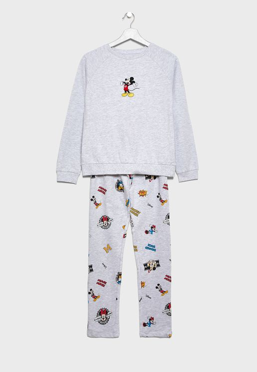 Teen Mickey Pyjama Set