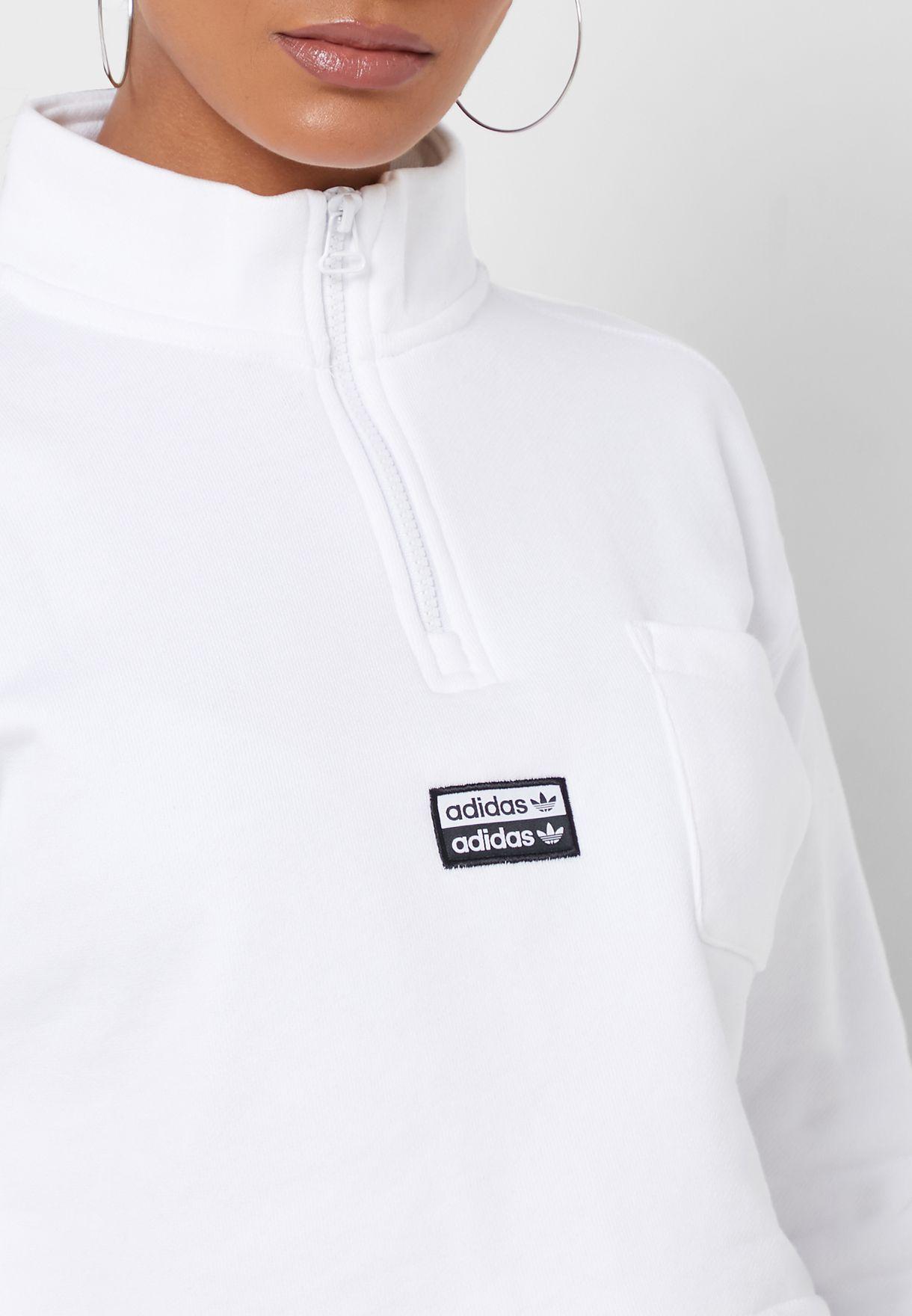 Logo Cropped Sweatshirt