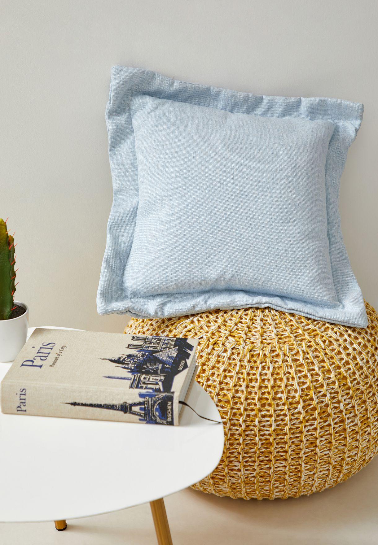 Light Blue Cushion With Insert45x45 cm