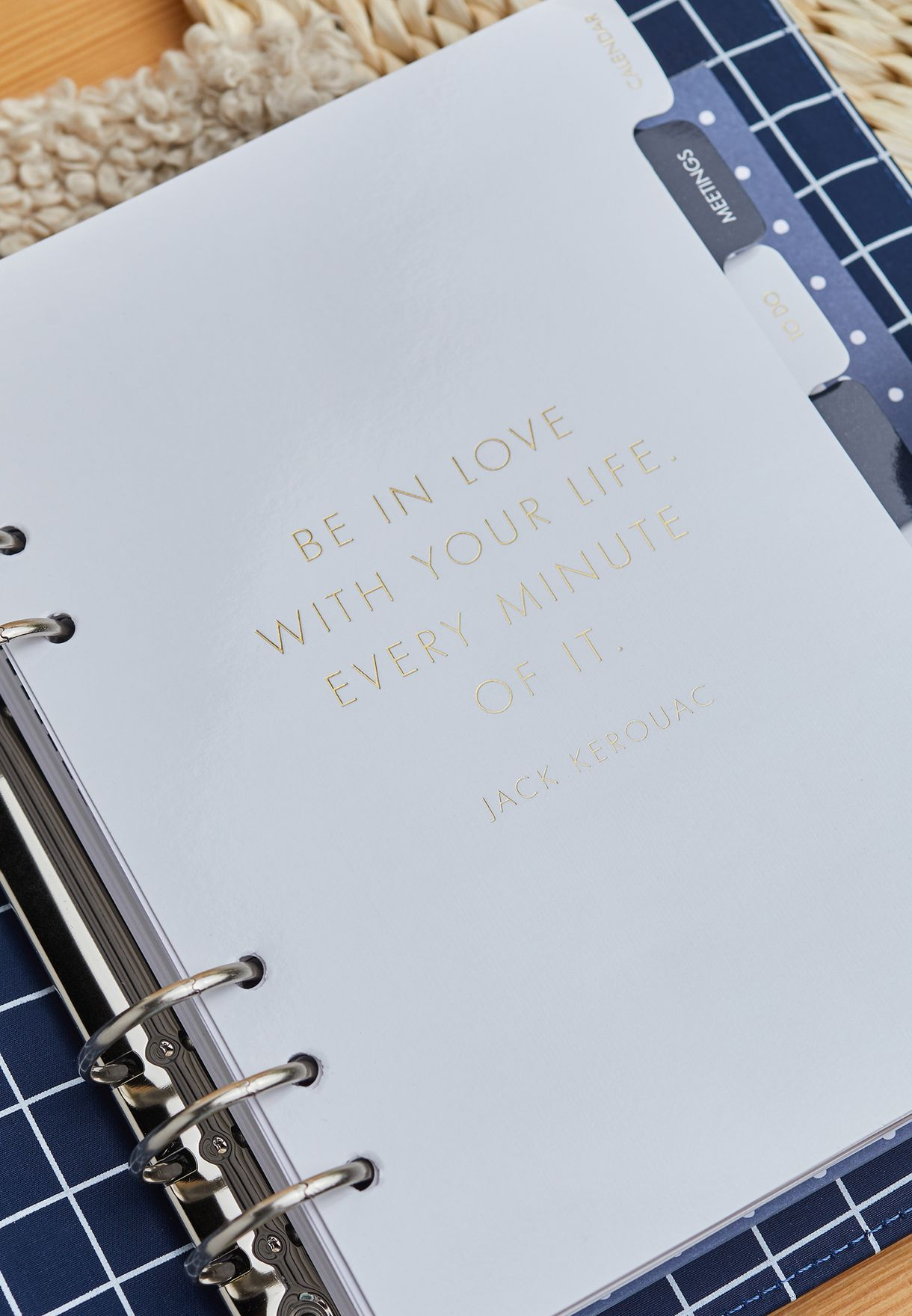 Leather Personal Planner Large