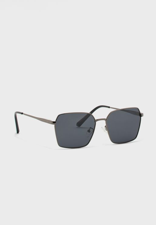 Casual Square Aviator Sunglasses