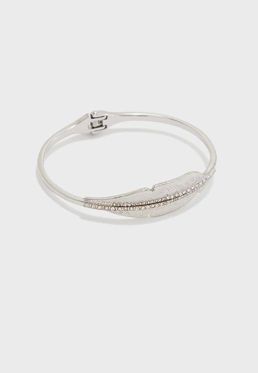 Angel Rhodium Bracelet