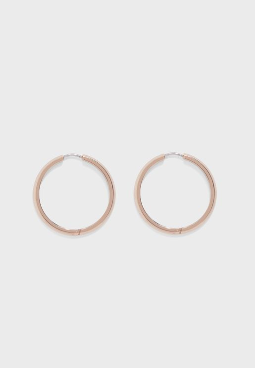 1580017 Insignia Hoop Earring