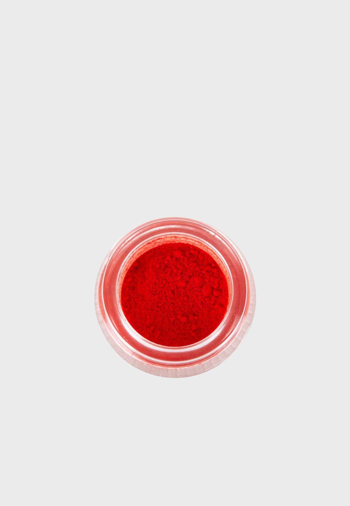 أصباغ بلون أحمر