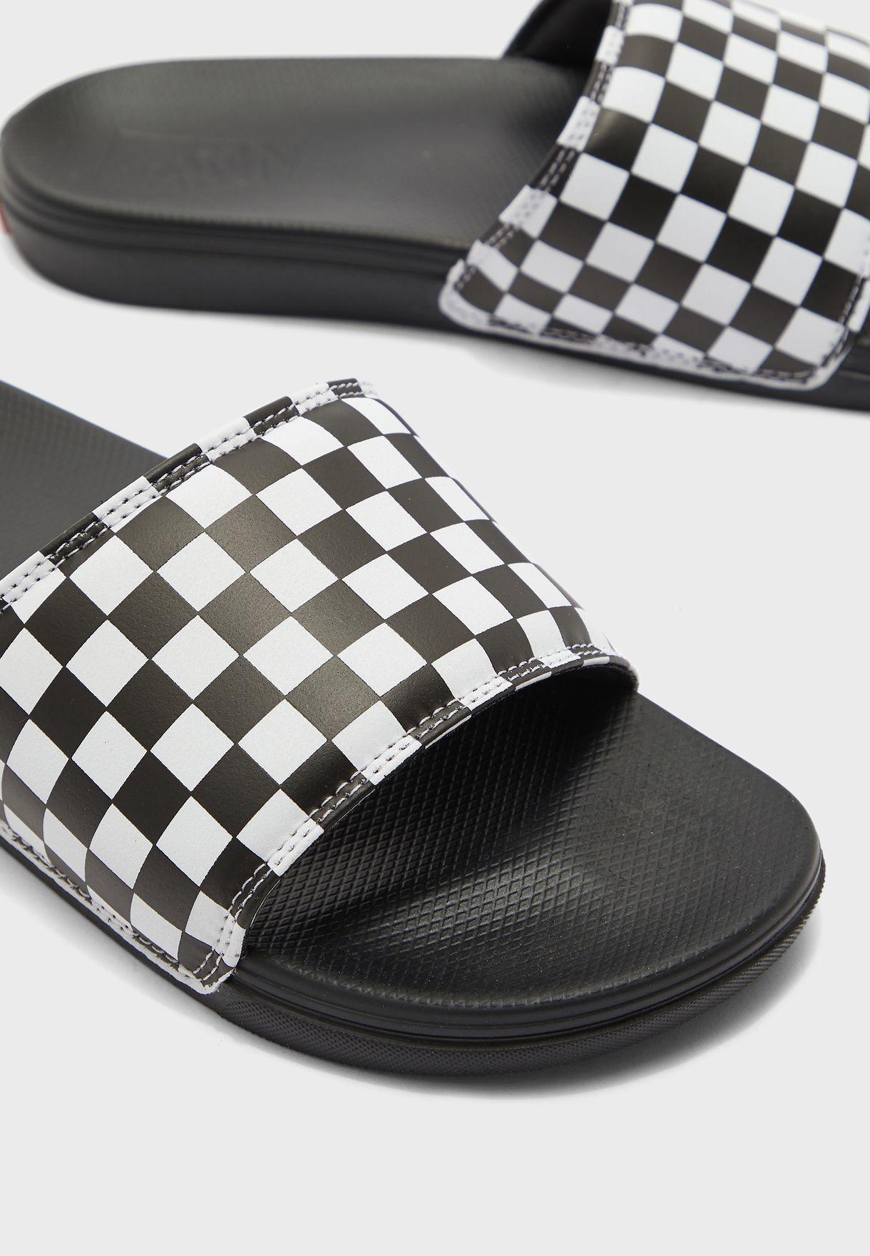 Checkerboard La Costa Slide-On