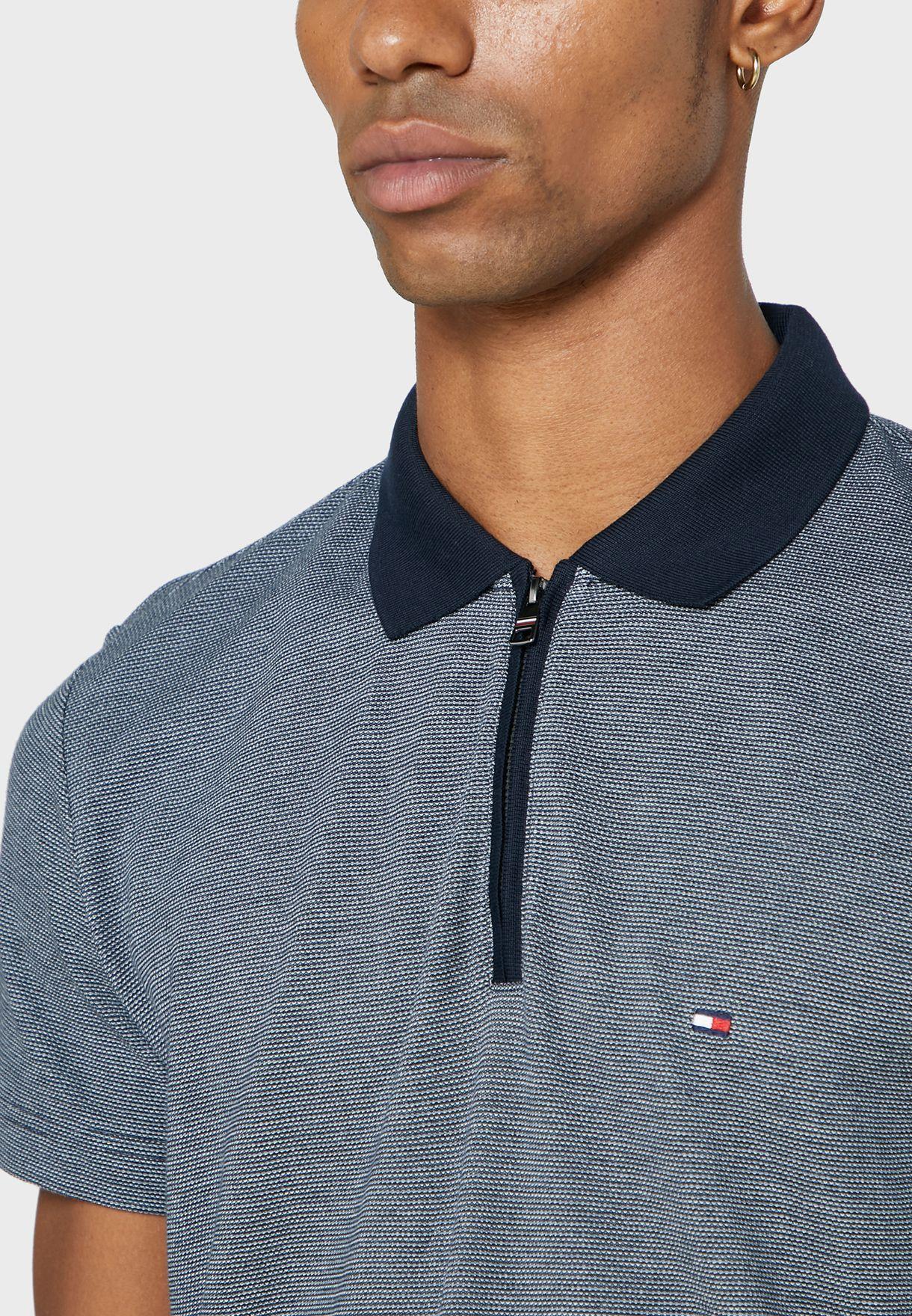 Half Zip Regular Fit Polo