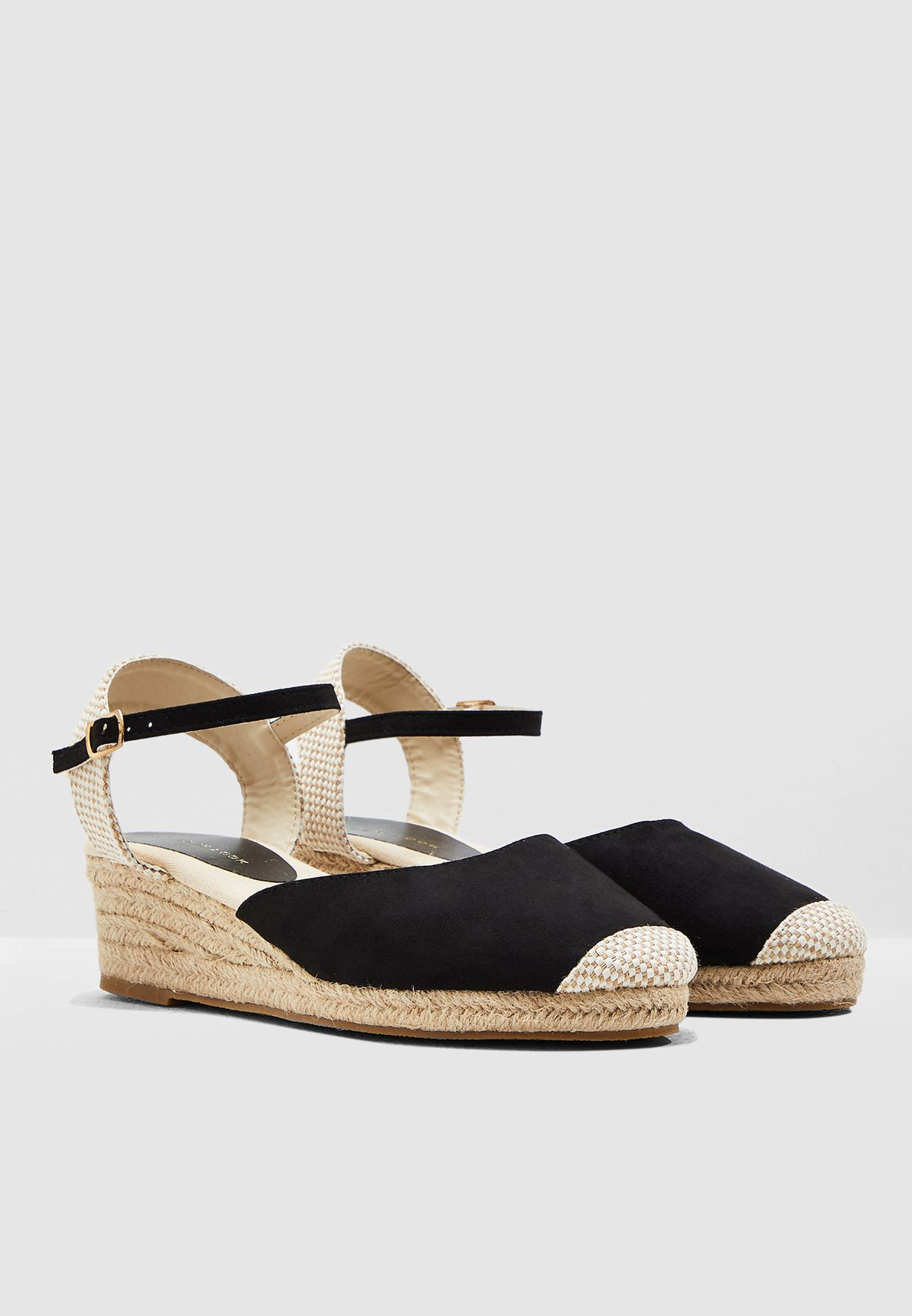 Tabago Wedge Pump - Black