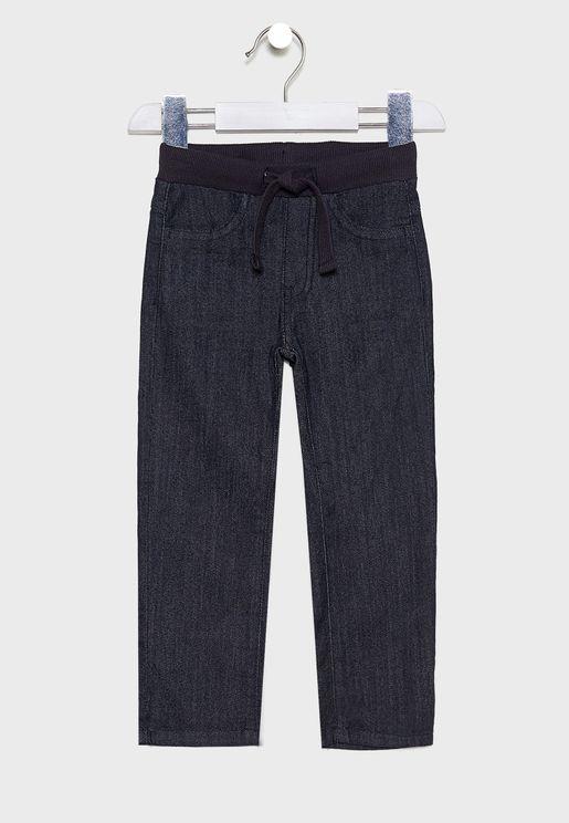 Little Tie Waist Detail Trouser