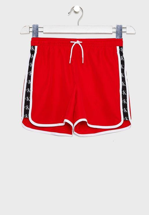 Kids Casual Logo Shorts
