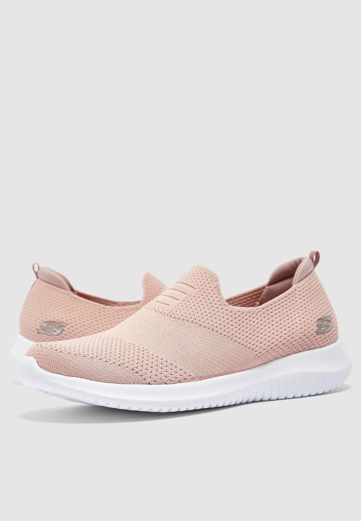 Buy Skechers pink Ultra Flex for Women