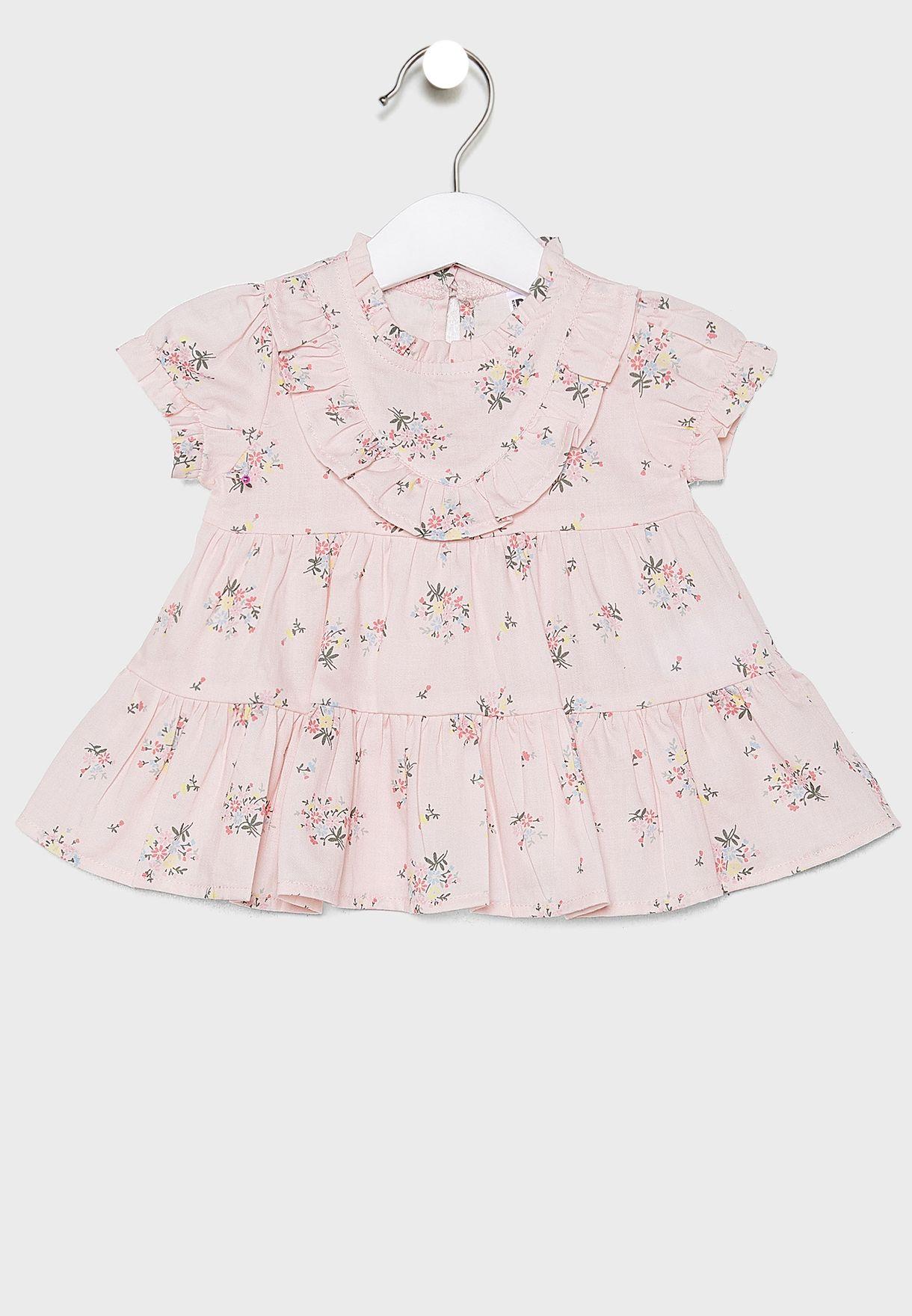 Infant Olivia Floral Dress