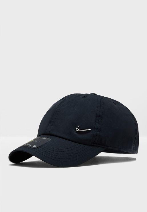 H86 Swoosh Metal Cap