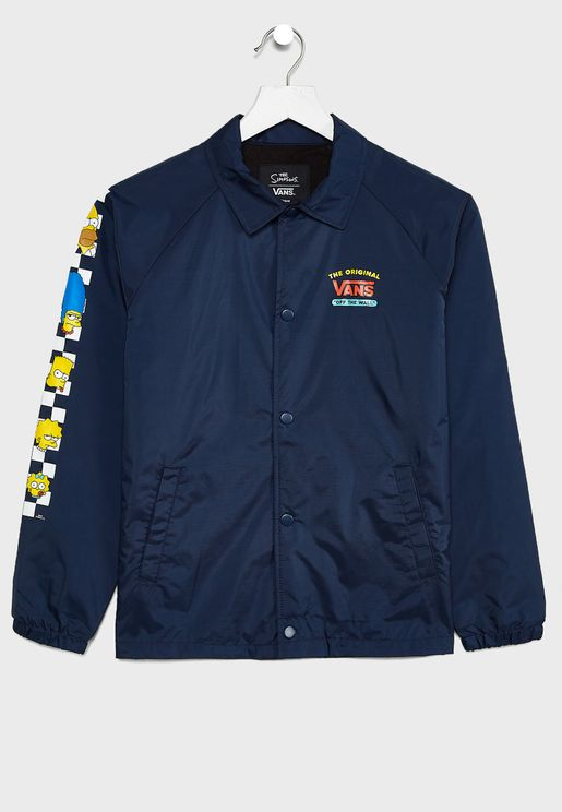 Kids Simpsons Torrey Track Jacket