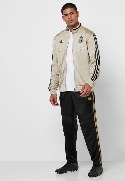بدلة رياضية بشعار ريال مدريد