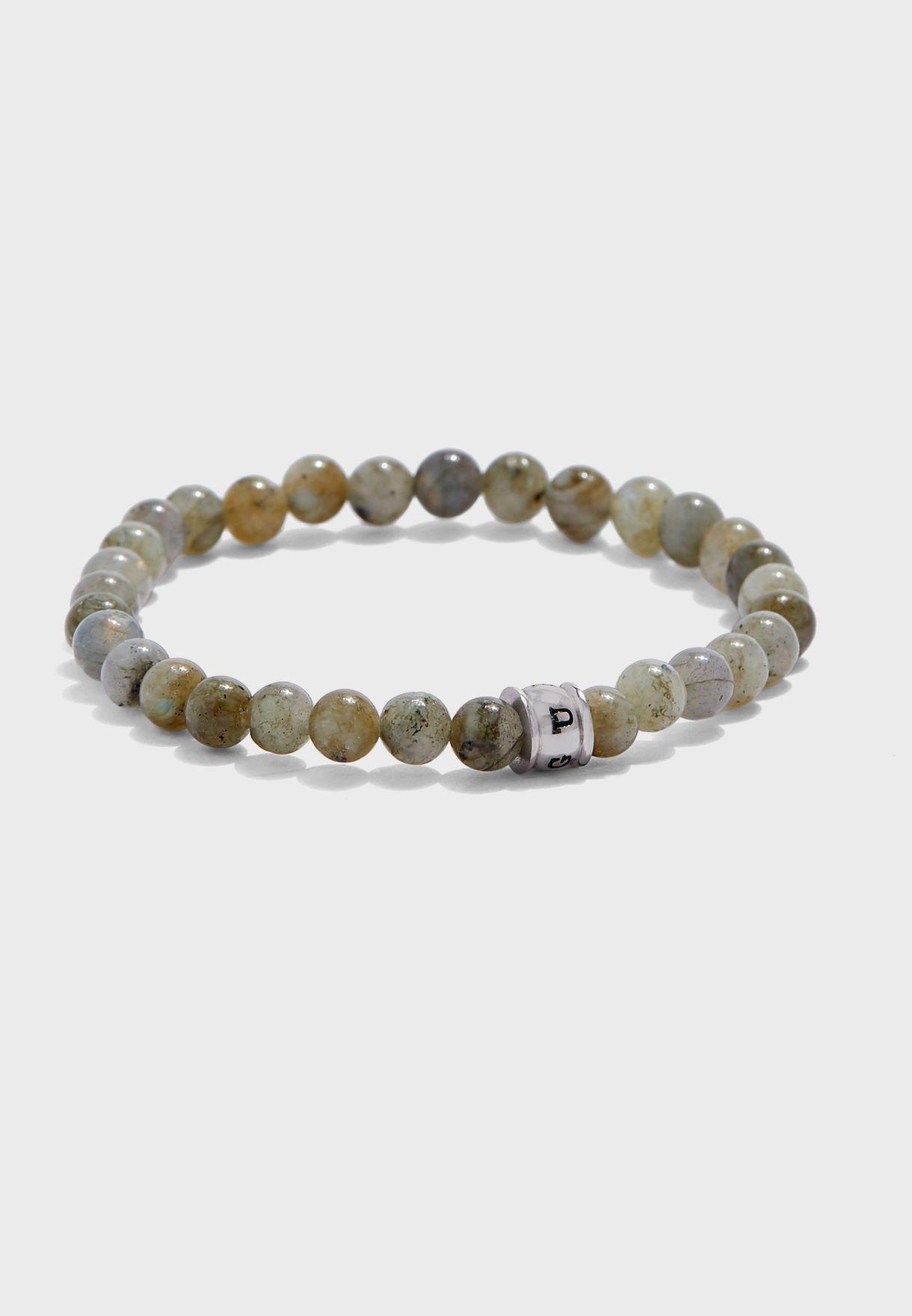 Beads Metal Detail Bracelet