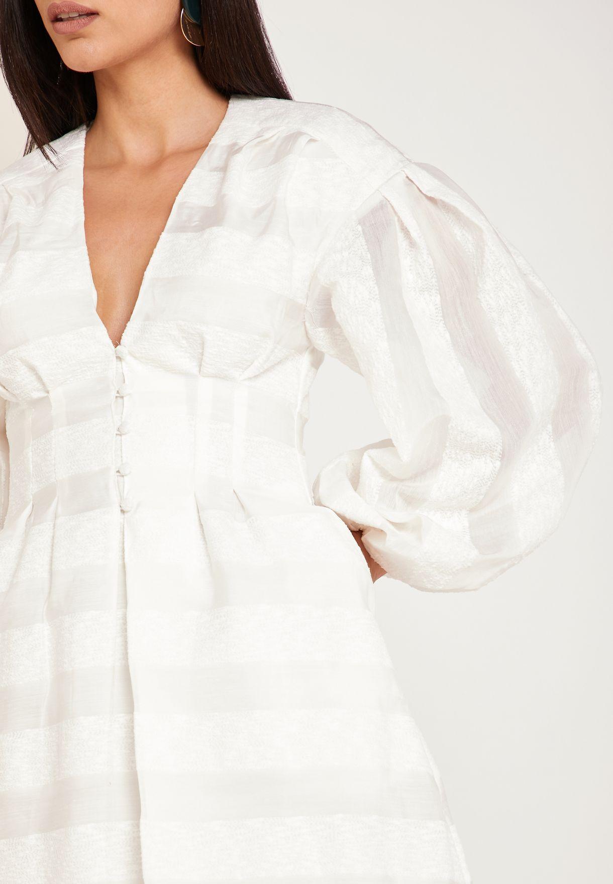 Unbroken Sleeve Detail Dress