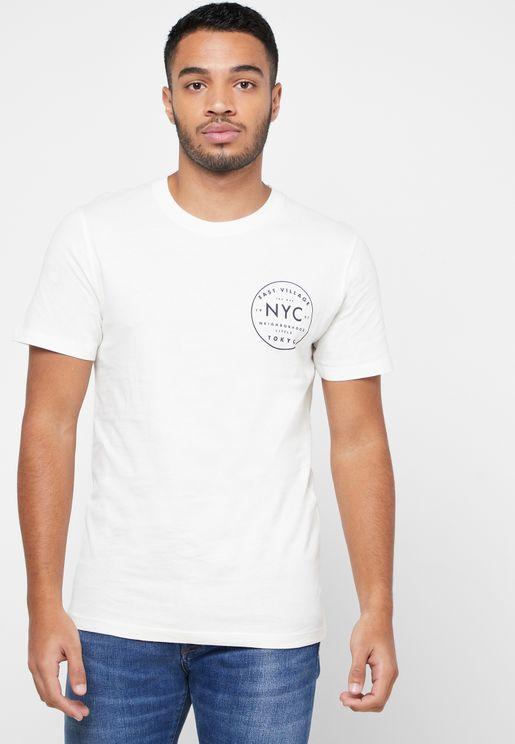 Paul NY City Crew Neck T-Shirt