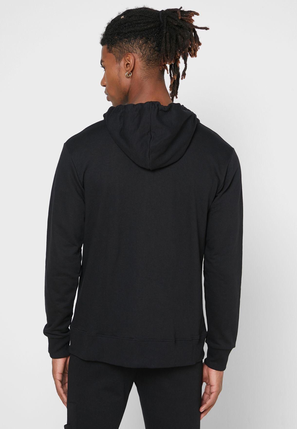 Zip Through Hoodie
