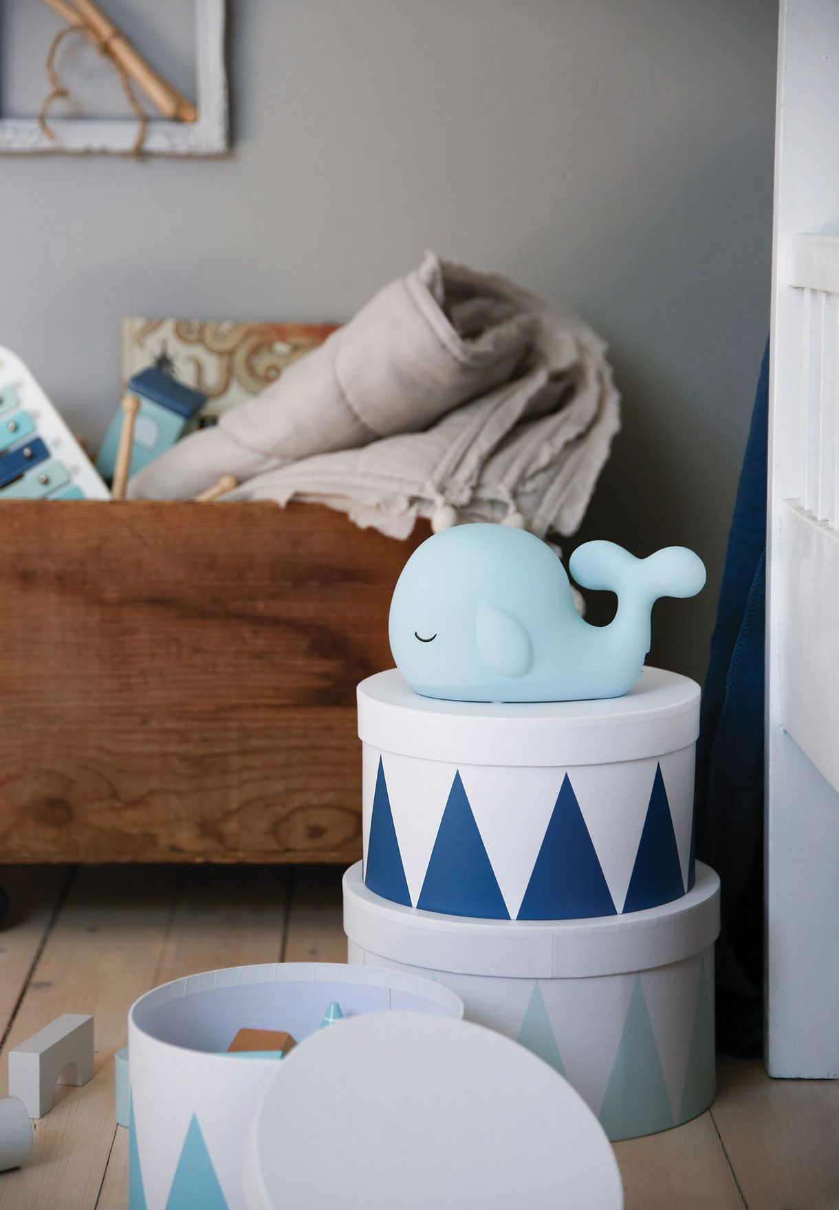 Kids Whale Lamp